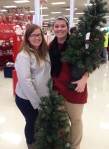 Target Share a Tree volunteers